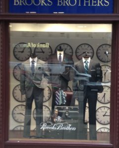 No more Brooks Brothers, Brothers Brooks?