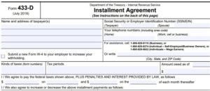 Irs Installment Agreement Over 50000 Wilson Rogers Company